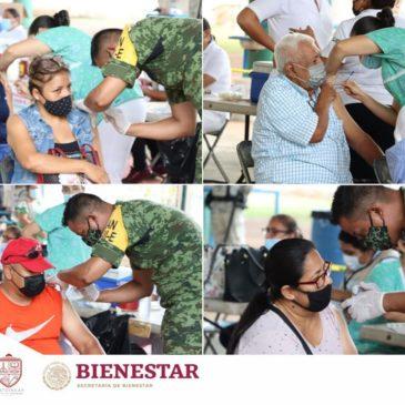 Jornada de vacunación mayores de 40 años